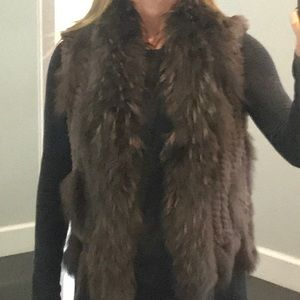 Jackets & Blazers - Fabulous Rabbit Fur Vest